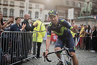 "Alejandro Valverde (ESP/Movistar)<br /> <br /> ""Le Grand Départ"" <br /> 104th Tour de France 2017 <br /> Team Presentation in Düsseldorf/Germany"