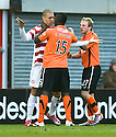 :: HAMILTON'S MICKAEL ANTOINE-CURIER CLASHES WITH DUNDEE UTD'S PRINCE BUABEN::