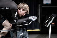 Nils Eekhof (NED/DSM) warming up pre-stage<br /> <br /> Stage 5 (ITT): Time Trial from Changé to Laval Espace Mayenne (27.2km)<br /> 108th Tour de France 2021 (2.UWT)<br /> <br /> ©kramon