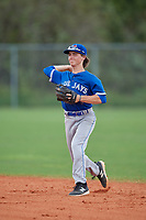 Alex Ellert (2) during the WWBA World Championship at Lee County Player Development Complex on October 11, 2020 in Fort Myers, Florida.  Alex Ellert, a resident of White City, Saskatchewan, Canada who attends Martin Collegiate School.  (Mike Janes/Four Seam Images)