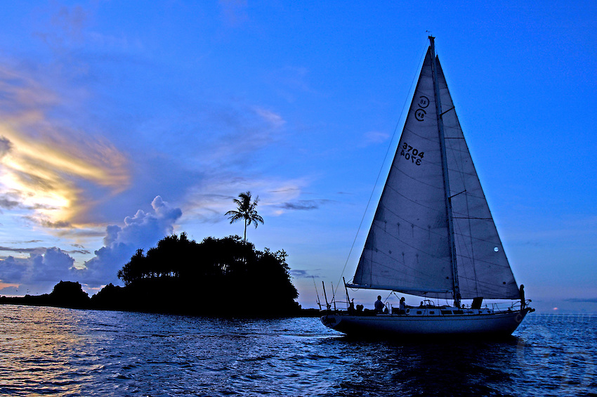 Sailing PALAU and the Rock islands,