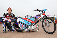 Adam Ellis of Lakeside Hammers - Lakeside Hammers Speedway Press & Practice Day at Arena Essex Raceway - 20/03/15 - MANDATORY CREDIT: Gavin Ellis/TGSPHOTO - Self billing applies where appropriate - contact@tgsphoto.co.uk - NO UNPAID USE