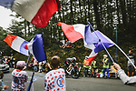 Luke Durbridge (AUS) Team BikeExchange in action during Stage 5 of the 2021 Tour de France, an individual time trial running 27.2km from Change to Laval, France. 30th June 2021.  <br /> Picture: A.S.O./Pauline Ballet | Cyclefile<br /> <br /> All photos usage must carry mandatory copyright credit (© Cyclefile | A.S.O./Pauline Ballet)