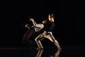 "Leeds, UK. 19.03.2019. First and Third Year students of BA (Hons) Dance (Contemporary), at the Northern School of Contemporary Dance, present work as part of FLOCK FEST, in the Riley Theatre. This piece is: ""Nacht Night Noc"" by choreographer Hana Goseling. The dancers are: Francesca Berry, Bailey Dowler, Elena Fazzino, Martine Grolid, Luke Hodkinson, Harriet Leaf, Alice Marriott, Elliot Mayne, Izzy Moloney, Syandita Prameswari, Jamie Reecejones, Fay Reillu, Jamie Reynolds Granner, Gianna Rotkvich, Harry Rule,Ingrid Schade, Fuad Shebe, Jemma Stein, Imogen Wright. Photograph © Jane Hobson."