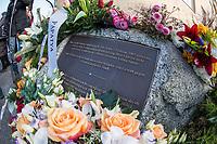 """Gedenken an Ehrenmord-Opfer Hatun Sueruecue in Berlin.<br /> Am Mittwoch den 7. Februar 2018 wurde in Berlin-Tempelhof der am 7.2.2005 ermordeten Deutsch-Kurdin Hatun Sueruecue gedacht. Die 21jaehrige Frau wurde vor 13 Jahren von ihrer Familie ermordet, weil sie sich nicht an die """"traditionellen Werte"""" gehalten hat. Sie hatte eine Ausbildung zur Elektroinstallatoerin gemacht hat und mit ihrem unehelichen Kind ein selbstbestimmtes Leben fuehren wollen.<br /> Der Mord wurde in Abstimmung mit der Familie von ihren Bruedern durchgefuehrt, als Taeter wurde der damals minderjaehriger Bruder vorgeschickt. Zwei Brueder fluechteten in die Tuerkei und wurden dort aus """"Mangel an Beweisen"""" freigesprochen.<br /> 7.2.2018, Berlin<br /> Copyright: Christian-Ditsch.de<br /> [Inhaltsveraendernde Manipulation des Fotos nur nach ausdruecklicher Genehmigung des Fotografen. Vereinbarungen ueber Abtretung von Persoenlichkeitsrechten/Model Release der abgebildeten Person/Personen liegen nicht vor. NO MODEL RELEASE! Nur fuer Redaktionelle Zwecke. Don't publish without copyright Christian-Ditsch.de, Veroeffentlichung nur mit Fotografennennung, sowie gegen Honorar, MwSt. und Beleg. Konto: I N G - D i B a, IBAN DE58500105175400192269, BIC INGDDEFFXXX, Kontakt: post@christian-ditsch.de<br /> Bei der Bearbeitung der Dateiinformationen darf die Urheberkennzeichnung in den EXIF- und  IPTC-Daten nicht entfernt werden, diese sind in digitalen Medien nach §95c UrhG rechtlich geschuetzt. Der Urhebervermerk wird gemaess §13 UrhG verlangt.]"""
