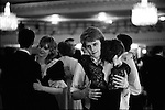 Rose Ball, Grosvenor House Hotel, London young couple dancing 1982.
