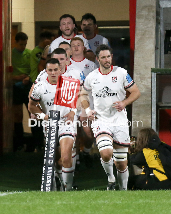 Friday 24th September 2021<br /> <br /> Sam Carter during the URC Round 1 clash between Ulster Rugby and Glasgow Warriors at Kingspan Stadium, Ravenhill Park, Belfast, Northern Ireland. Photo by John Dickson/Dicksondigital