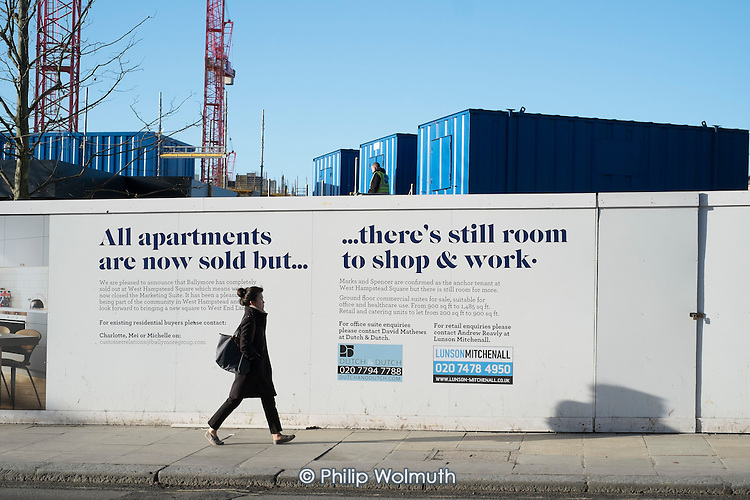 Joint venture development in West Hampstead, London,   by Ballymore Group and Network Rail, consisting of 198 flats (32% classified as affordable), shops, restaurants, a food market, 5,000 square feet of offices and 2,600 sq ft of leisure space. All the flats have been sold off-plan.
