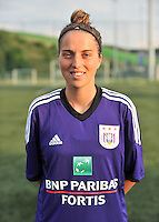 RSC Anderlecht Dames : Anne Muni<br /> foto David Catry / nikonpro.be