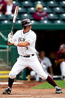 Patrick Drake (5) of the Missouri State Bears at bat during a game against the Bradley Braves on May 13, 2011 at Hammons Field in Springfield, Missouri.  Photo By David Welker/Four Seam Images