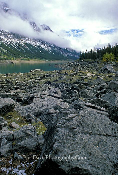 Medicine Lake, Jasper National Park, Canadian Rockies