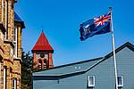 "Falkland Island Flag ""Desire The Right"""