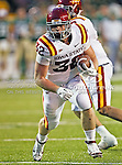 Iowa State Cyclones running back Jeff Woody (32) in action during the game between the Iowa State Cyclones and the Baylor Bears at the Floyd Casey Stadium in Waco, Texas. Baylor defeats Iowa State 49 to 26.