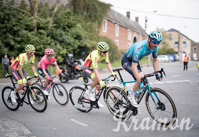 Hugo Houle (CAN/Astana-Premier Tech)<br /> <br /> 85th La Flèche Wallonne 2021 (1.UWT)<br /> 1 day race from Charleroi to the Mur de Huy (BEL): 194km<br /> <br /> ©kramon