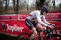 Lucinda Brand (NED/Baloise Trek Lions)<br /> <br /> 2021 UCI CX World Cup Overijse (BEL)<br /> Vlaamse Druivencross<br /> <br /> Women's Race<br /> <br /> ©kramon