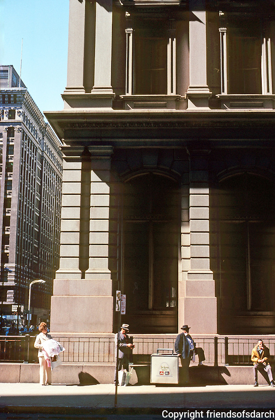St. Louis: Old Post Office, 1874-1882. Southwest corner (Olive & 8th). Photo '77.