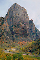 Virgin River and Great White Throne<br />