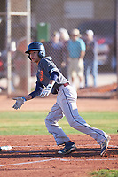 Ross Panlasigui (48), from Lahaina, Hawaii, while playing for the Giants during the Under Armour Baseball Factory Recruiting Classic at Gene Autry Park on December 30, 2017 in Mesa, Arizona. (Zachary Lucy/Four Seam Images)