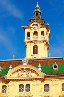 Szeged 18th century City Hall, Szechenyi Square, Hungary