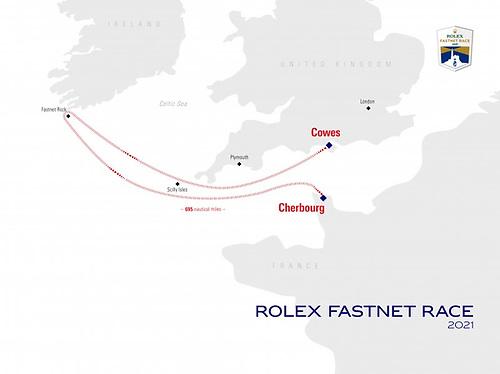 Fastnet Race Course 2021