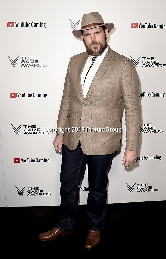 LOS ANGELES - DECEMBER 6: Steve J. Palmer attends the 2018 Game Awards at the Microsoft Theater on December 6, 2018 in Los Angeles, California. (Photo by Scott Kirkland/PictureGroup)