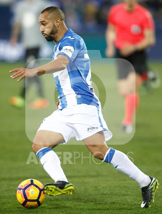 CD Leganes' Nabil El Zhar during La Liga match. February 25,2017. (ALTERPHOTOS/Acero)
