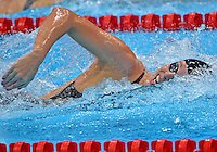 July 30, 2012..ALLISON SHCMITT of USA competes in women's 200m freestyle semifinal event at the Aquatics Center on day three of 2012 Olympic Games England in London, United Kingdom...(Credit Image: © Mohammad Khursheed/Cal port Media)