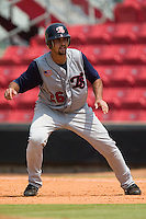 Tennessee third baseman Jamie D'Antona takes a lead off of first base versus Carolina at Five County Stadium in Zebulon, NC, Sunday, July 2, 2006.  The Mudcats defeated the Smokies 4-0.