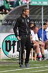 19.09.2020, Dietmar-Scholze-Stadion an der Lohmuehle, Luebeck, GER, 3. Liga, VfB Luebeck vs 1.FC Saarbruecken <br /> <br /> DFB REGULATIONS PROHIBIT ANY USE OF PHOTOGRAPHS AS IMAGE SEQUENCES AND/OR QUASI-VIDEO.<br /> <br /> im Bild / picture shows <br /> Trainer Lukas Kwasniok (1.FC Saarbruecken)<br /> <br /> <br /> Foto © nordphoto / Tauchnitz