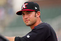Drew Lee #11 of the Kannapolis Intimidators prior to the game against the Delmarva Shorebirds at Fieldcrest Cannon Stadium on May 23, 2011 in Kannapolis, North Carolina.   Photo by Brian Westerholt / Four Seam Images