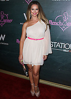 HOLLYWOOD, LOS ANGELES, CA, USA - AUGUST 28: Katarina Van Derham arrives at the Benchwarmer Back To School Celebration to Benefit Children of the Night held at Station Hollywood at the W Hotel Hollywood on August 28, 2014 in Hollywood, Los Angeles, California, United States. (Photo by Xavier Collin/Celebrity Monitor)
