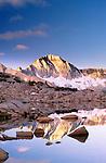 Mt. Goethe, Dusy Basin, Kings Canyon National Park, California, USA