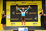 Nans Peters (FRA) AG2R La Mondiale wins solo Stage 8 of Tour de France 2020, running 141km from Cazeres-sur-Garonne to Loudenvielle, France. 5th September 2020. <br /> Picture: ASO/Pauline Ballet | Cyclefile<br /> All photos usage must carry mandatory copyright credit (© Cyclefile | ASO/Pauline Ballet)