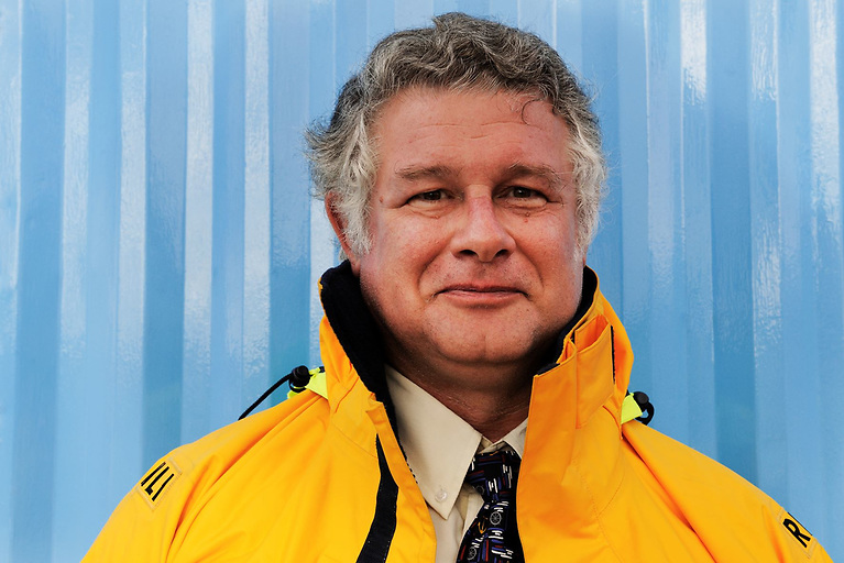 Stephen Wynne is retiring as Dun Laoghaire RNLI's Lifeboat Operations Manager