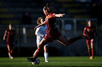 Alice Corelli of AS Roma in action during the Women Italy cup round of 8 second leg match between AS Roma and Florentia S.G. at stadio delle tre fontane, Roma, February 14, 2021. Photo Andrea Staccioli / Insidefoto