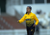 Wellington's Maneka Singh during the women's Hallyburton Johnstone Shield cricket match between the Wellington Blaze and Auckland Hearts at Basin Reserve in Wellington, New Zealand on Saturday, 16 November 2019. Photo: Dave Lintott / lintottphoto.co.nz