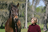 Flat Top and Janet Elliot at Little Everglades Steeplechase 2007.