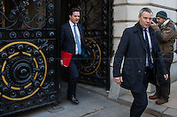 George Osborne (Chancellor of the Exchequer).<br />