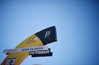 TdF start bow <br /> <br /> stage 15: Bourg-en-Bresse to Culoz (160km)<br /> 103rd Tour de France 2016