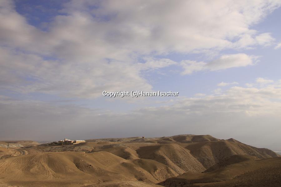Nabi Musa in the Judean Desert, a Muslim pilgrimage site