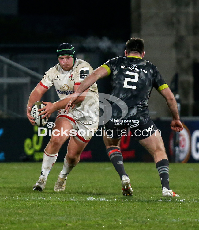 2nd January 2021 | Ulster vs Munster <br /> <br /> Eric O'Sullivan during the PRO14 Round 10 clash between Ulster Rugby and Munster Rugby at the Kingspan Stadium, Ravenhill Park, Belfast, Northern Ireland. Photo by John Dickson/Dicksondigital