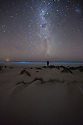 Milky Way at Sleaford Bay. South Australia.