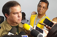 Recife (PE), 19/02/2020 - Carnaval-Recife - Major da Policia Militar, Felipe Gondim, durante coletiva na Secretaria de Saude do Recife nesta quarta-feira (19) para divulgacao das acoes e o esquema durante o carnaval na cidade. (Foto: Bruno Lafaiete/Codigo 19/Codigo 19)