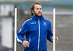 St Johnstone Training……26.08.20<br />Stevie May pictured during training at McDiarmid Park ahead of Saturday's game against St Mirren.<br />Picture by Graeme Hart.<br />Copyright Perthshire Picture Agency<br />Tel: 01738 623350  Mobile: 07990 594431