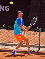 Netherlands, Rotterdam August 08, 2015, Tennis,  National Junior Championships, NJK, TV Victoria, Rik Muller<br /> Photo: Tennisimages/Henk Koster