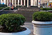 News Corp. Headquarters, Avenue of the Americas, New York, USA
