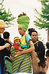 May 14, 1998 Dallas, Texas - Erykah Badu & son Seven Sirius Benjamin.  Photo credit: Elgin Edmonds /Presswire News Agency
