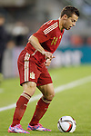 Spain's Cesar Azpilicueta during international friendly match.November 18,2014. (ALTERPHOTOS/Acero)