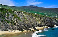 Beach and cliffs along the Irish West coast, Ireland
