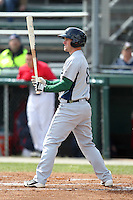 Lexington Legends outfielder Zachary Johnson #8 at bat during a game against the Hagerstown Suns at Municipal Park on April 11, 2012 in Hagerstown, Maryland.  Lexington defeated Hagerstown 3-0.  (Mike Janes/Four Seam Images)